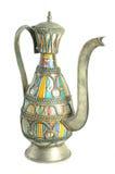 marokański teapot fotografia royalty free