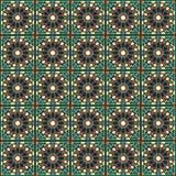 Marokański tradycyjny mozaiki ściany wystrój Zdjęcia Royalty Free
