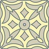 Marokańskiego malowidła ściennego dekoracyjny geometryczny bezszwowy wzór ilustracja wektor