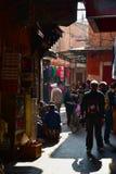 Marokańskiego stylu życia uliczny rynek Zdjęcie Royalty Free