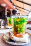 Marokańczyk nowa herbata Zdjęcia Royalty Free