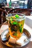 Marokańczyk nowa herbata Zdjęcie Royalty Free