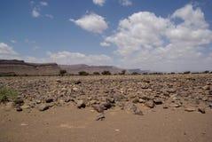 Marokańczyka krajobraz Obraz Royalty Free