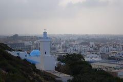 Marokańczyka krajobraz Agadir miasto Fotografia Stock