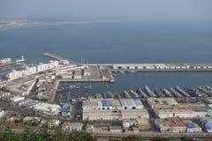 Marokańczyka krajobraz Widoku punkt w Agadir Obrazy Royalty Free