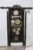 Marokańscy drzwi Fotografia Stock