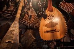 Marokańscy instrumenty muzyczni Obrazy Royalty Free