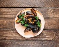 Marokańscy Mussels Zdjęcia Stock