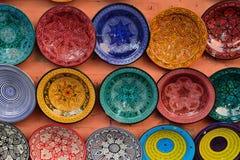 marokańscy talerze obrazy stock