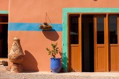 Marokańska garnek glina Zdjęcie Royalty Free