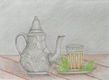 Marokańska herbata Zdjęcie Stock