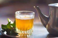 Marokańska herbata Fotografia Stock