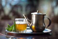 Marokańska herbata Obrazy Stock