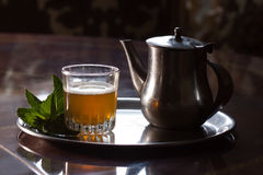 Marokańska herbata Fotografia Royalty Free