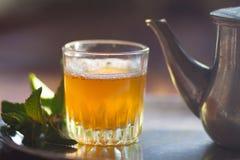 Marokańska herbata Zdjęcia Royalty Free