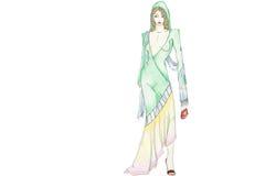 marokańska mody Obraz Royalty Free
