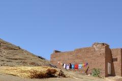 Marokańska pralnia Obrazy Royalty Free