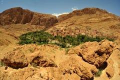 marokańska wioska Zdjęcie Royalty Free