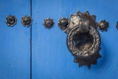 Marokański drzwi Zdjęcia Royalty Free