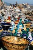 marokański garncarstwo Zdjęcia Royalty Free