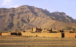 marokański ksar Fotografia Royalty Free