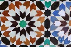 Marokański mozaiki zelidzh Obrazy Royalty Free