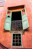 marokański okno Obrazy Royalty Free