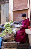Marokański owocowy rynek Obrazy Royalty Free