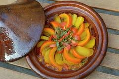 Marokański tagine z warzywami Obrazy Stock