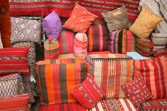 Marokańskie poduszki i poduszki Zdjęcia Royalty Free
