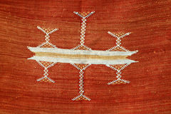 Marokańskie tkaniny Fotografia Royalty Free