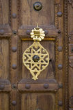 Marokkaans deuropeningsdetail Stock Fotografie