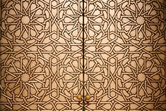 Marokkaans deuropeningsdetail Royalty-vrije Stock Foto