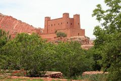 Marokkaans huis Stock Foto's