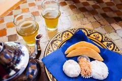 Marokkaans Ontbijt Stock Afbeelding
