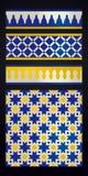 Marokkaans ornament Royalty-vrije Stock Afbeelding