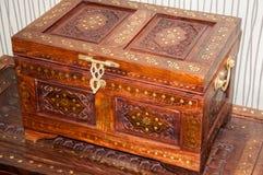 Marokkaans patroon op huishoudenpunten Royalty-vrije Stock Foto