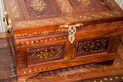 Marokkaans patroon op huishoudenpunten Royalty-vrije Stock Afbeeldingen