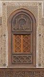 Marokkaans Venster Royalty-vrije Stock Foto