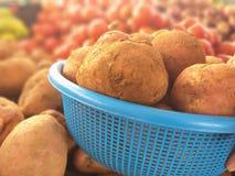Marokkaanse aardappels stock foto