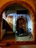 Marokkaanse Architectuur - kunst van decor stock foto