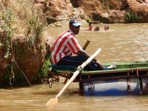 Marokkaanse boatman Royalty-vrije Stock Afbeeldingen