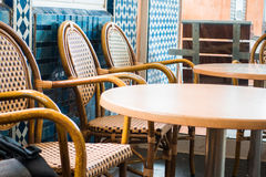 Marokkaanse coffeeshop Stock Foto