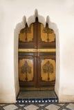 Marokkaanse Deur Stock Afbeelding