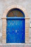 Marokkaanse deur Royalty-vrije Stock Afbeeldingen