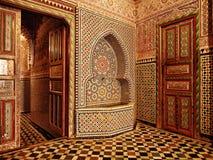 Marokkaanse deuropeningsingang Royalty-vrije Stock Afbeeldingen