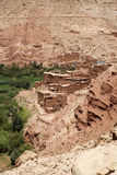 Marokkaanse huizen Royalty-vrije Stock Afbeelding