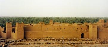 Marokkaanse ksar royalty-vrije stock afbeeldingen