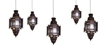 Marokkaanse lamp Royalty-vrije Stock Afbeeldingen