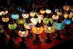Marokkaanse lampen Royalty-vrije Stock Fotografie